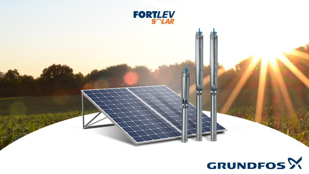 Bomba solar: entenda como funciona a mais nova tecnologia da Fortlev